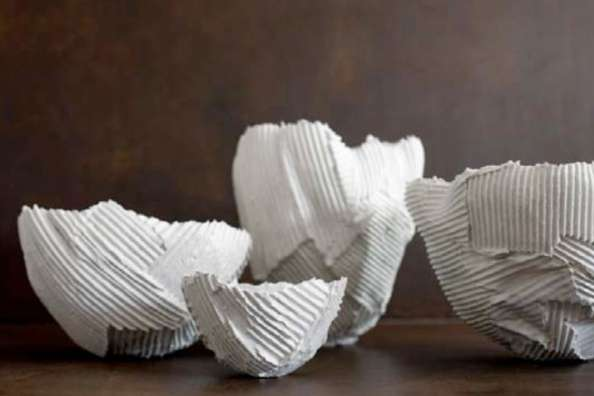 Paper Clay Dishware Paola Paronetto