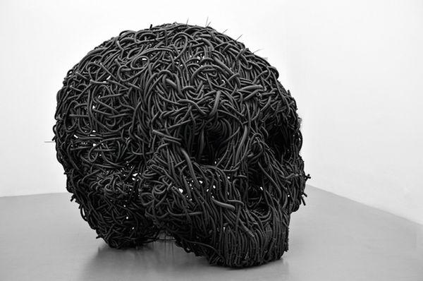 Conceptual Black Sculptures