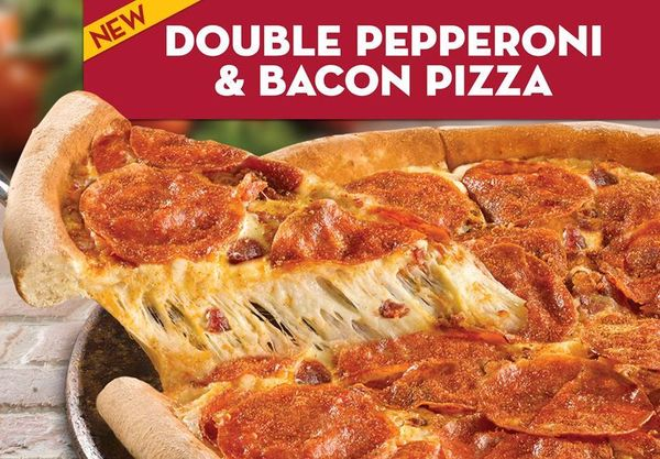 Full Bacon-Layered Pizzas