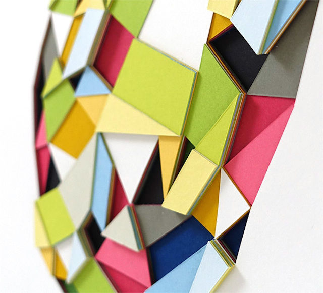 Polygonal Paper Art Sculptures