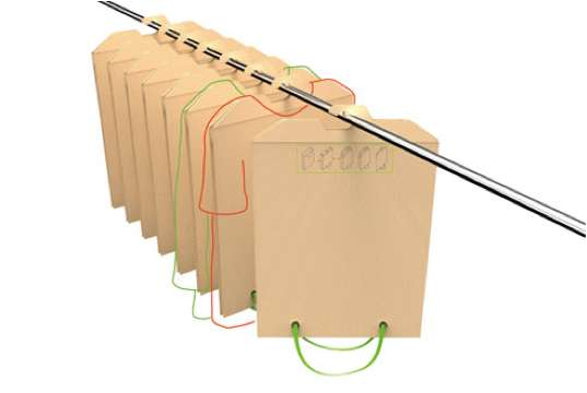 Adaptable Pouch Racks