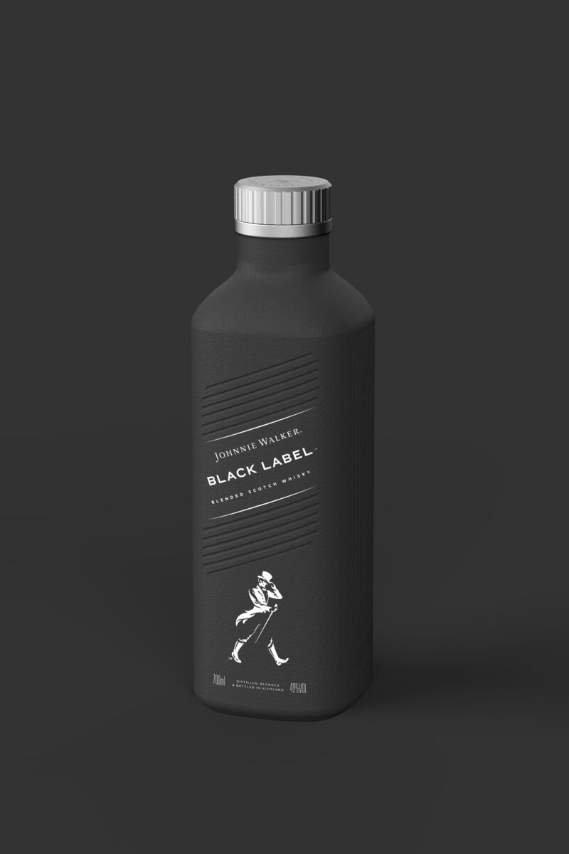 Paper-Based Spirits Bottles