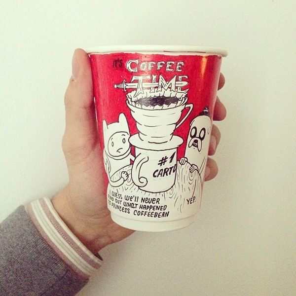 Fictitious Caffeine Branding
