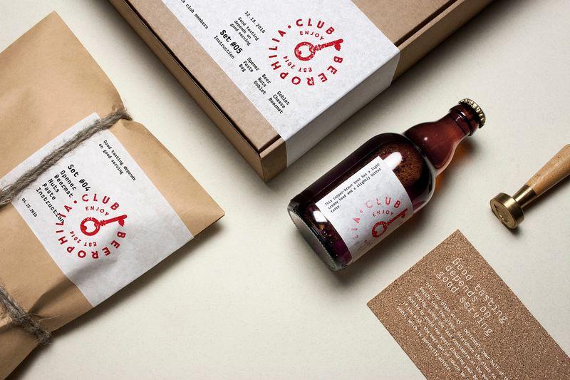 Beer Enthusiast Club Branding