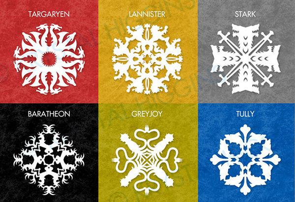 Fantasy Series Snowflakes