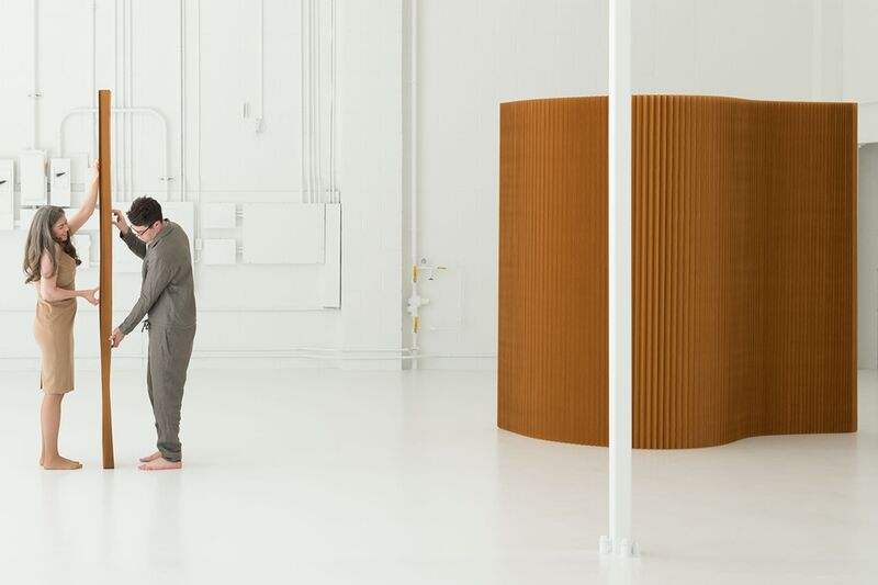 Sustainable Accordion-Style Room Dividers