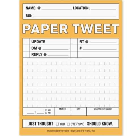 Social Media Stationery