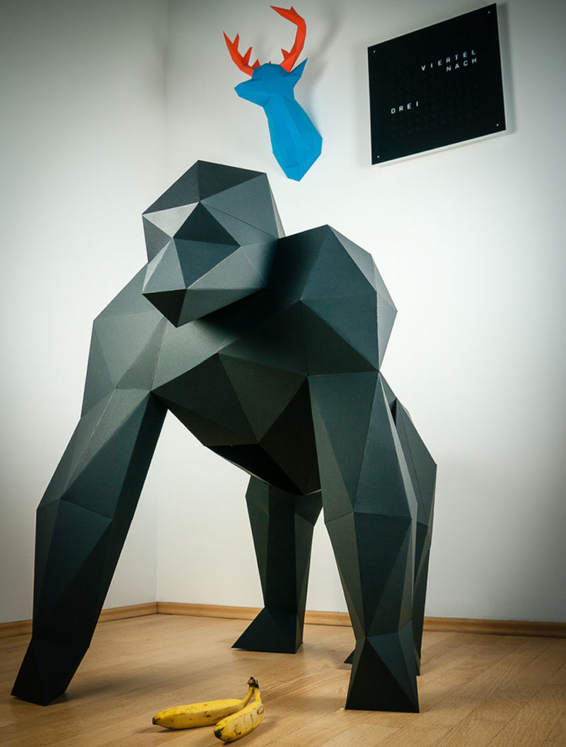 Massive Origami Taxidermy