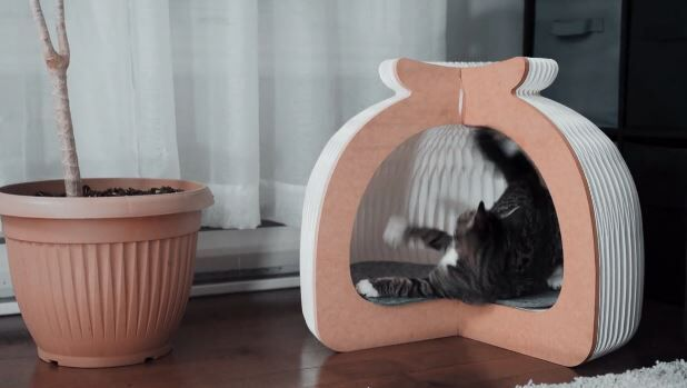 Collapsible Origami Pet Beds