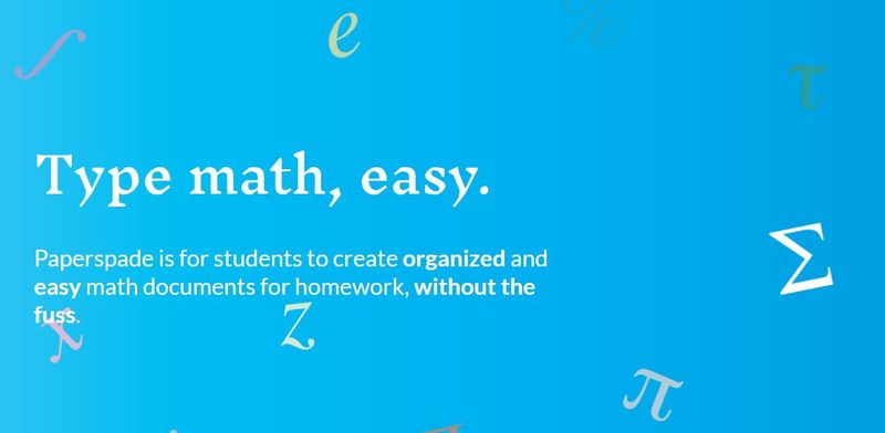 Math Writing Apps