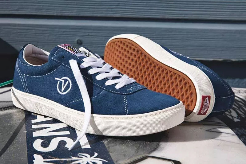 Surfer-Inspired Retro Sneakers