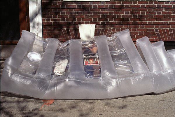 Inflatable Heat-Sharing Shelters