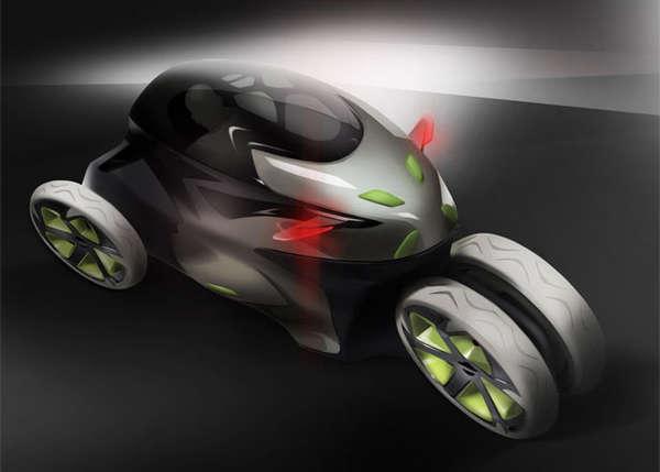 Shape-Shifting Concept Cars