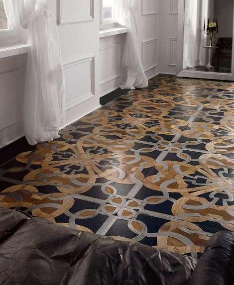 Wood Floor Mosaics