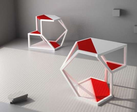 Mod Multifunctional Furniture Parchitects Asteroid Table