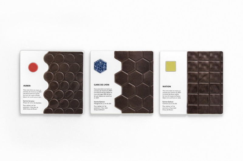 Railway-Inspired Chocolate Bars