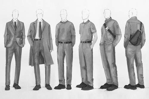Luxe Fashion Team Wardrobes