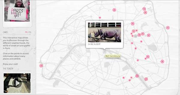 Interactive Graffiti Tracking Tools