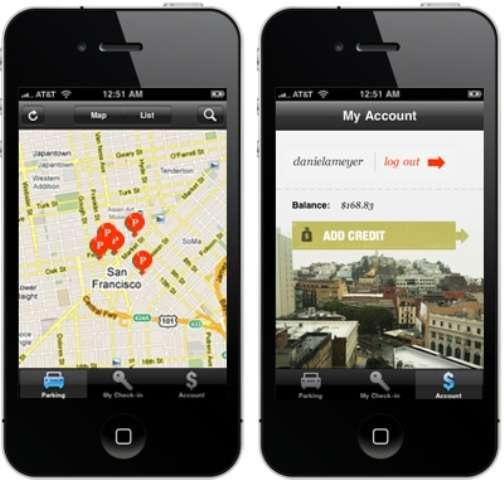 Peer-To-Peer Parking Apps