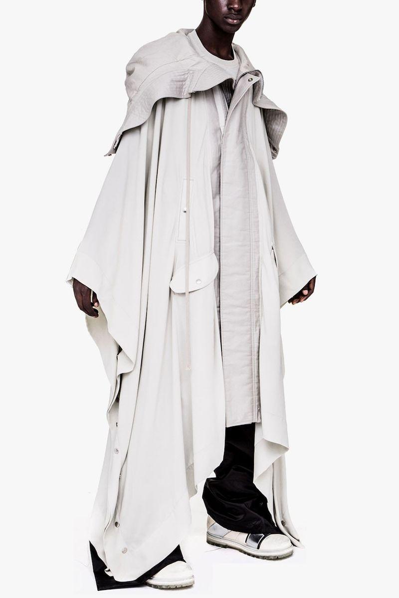 Unconventional Oversized Hybrid Overcoats