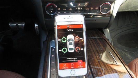 Sideways Parking Sensors