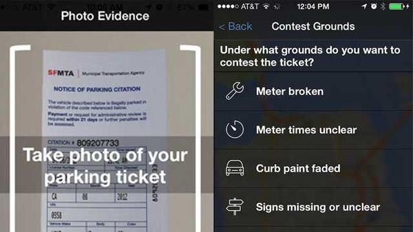 Battling Parking Ticket Apps
