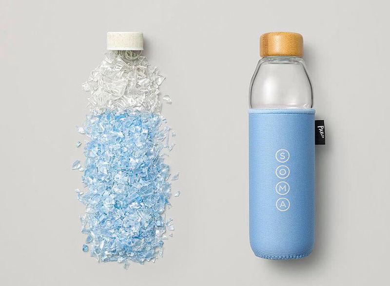 Upcycled Marine Plastic Bottles Parley Amp Soma