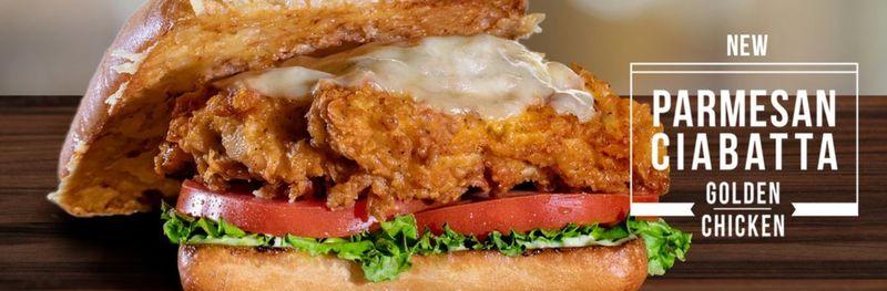 Parmesan-Crusted Chicken Sandwiches
