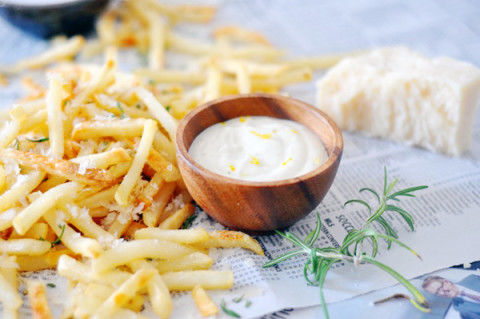 Herby Truffle Fries