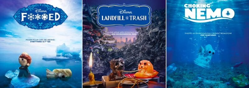 Parodying Disney Environment Posters