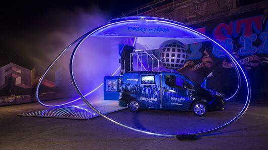 Futuristic Party Vans