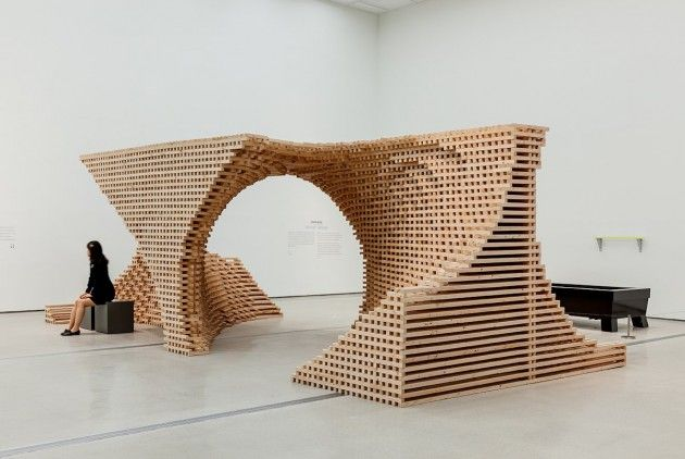 Elemental Wooden Installations