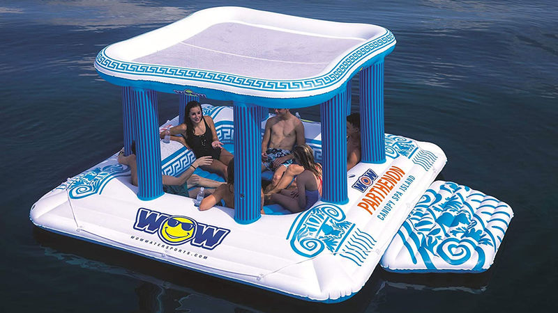 Inflatable Floating Grecian Islands