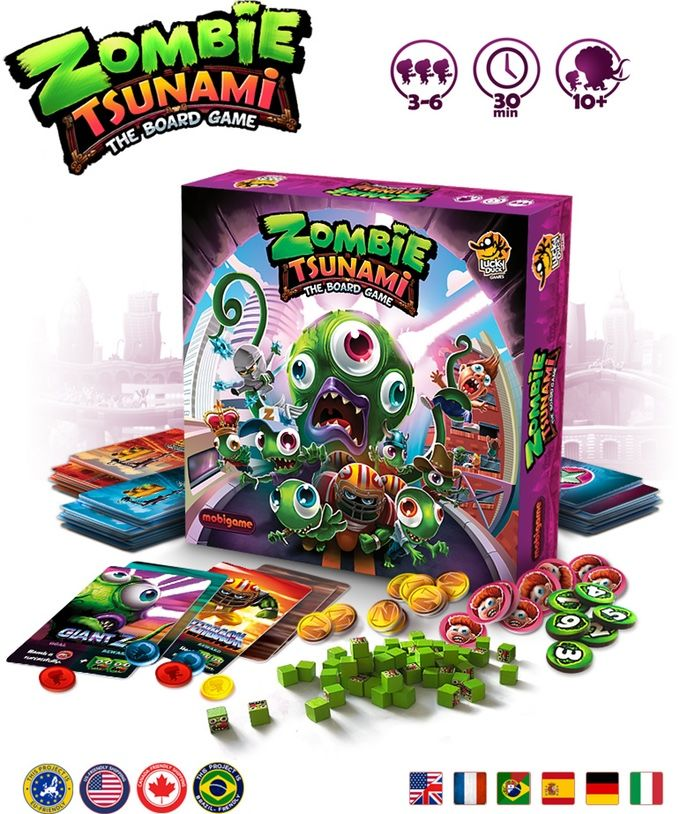 Zombie Domination Board Games