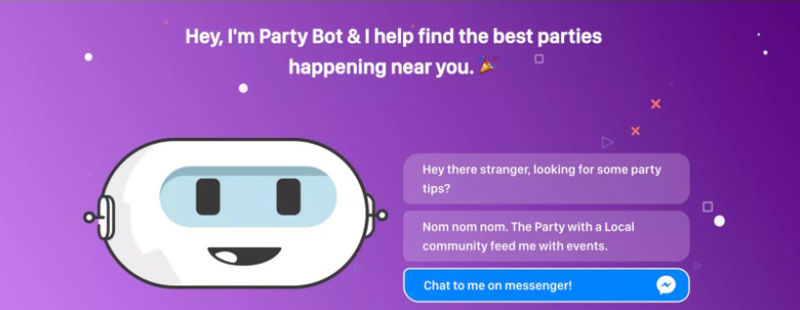 Party-Finding Chatbots