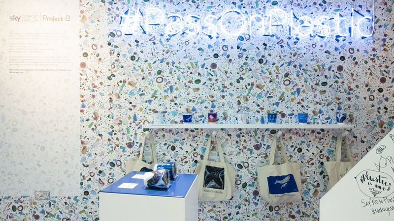 Visually Enchanting Anti-Plastic Stores