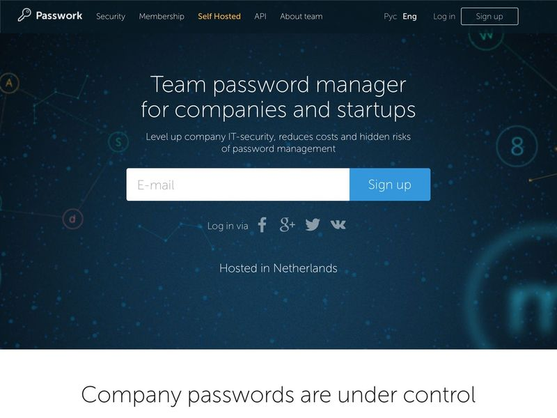 Company Password Management Services
