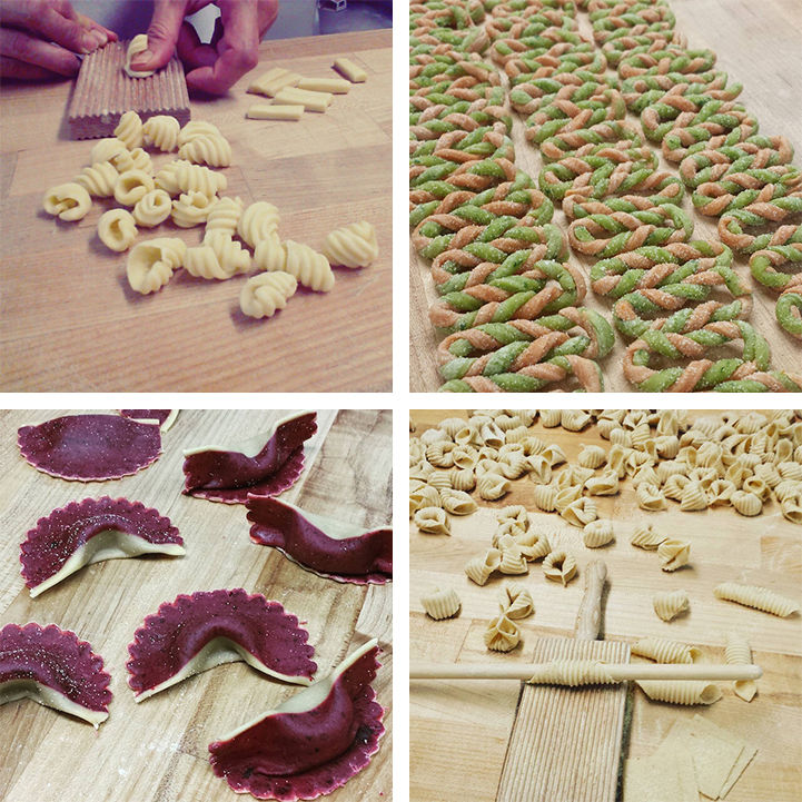 Edible Pasta Art