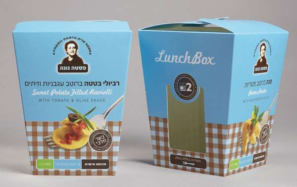 Home-Cooked Pasta Packaging