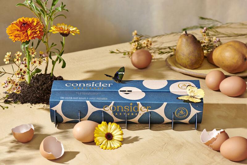 Sustainable Pasture-Raised Eggs