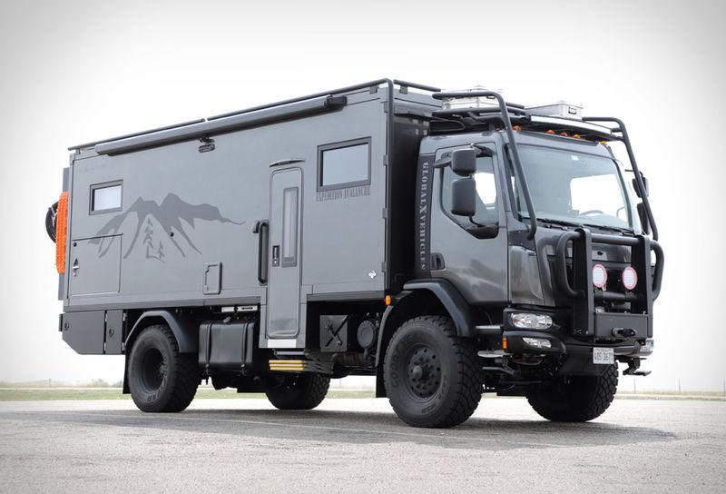 Ultra-Rugged Camper Trucks