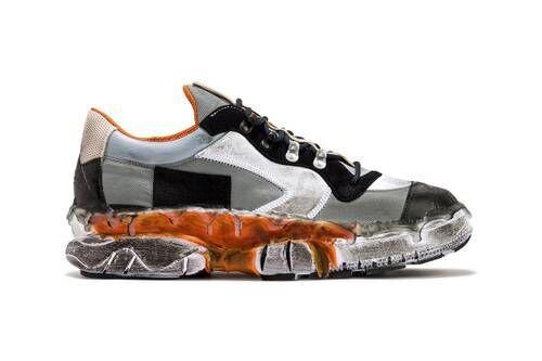 Luxe Worn-In Aesthetic Sneakers