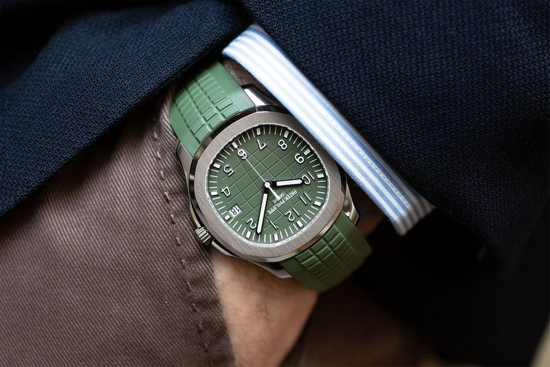 Militaristic Sporty Timepieces