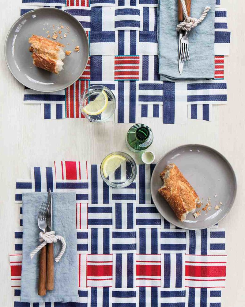 DIY Flag Napkins