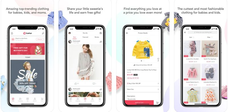 Discount Kid Clothing Apps
