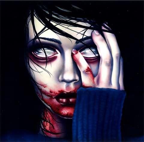 Eerie Eyeless Artworks