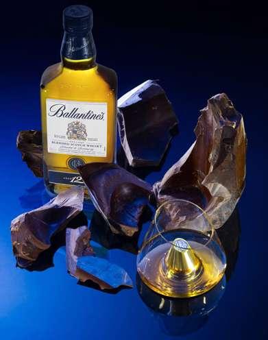 Chocolate-Covered Liquor Bottles