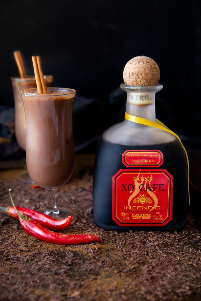 Boozy Spiced Chocolate Beverages