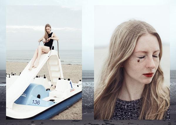 Freckled Girlfriend Seaside Shoots