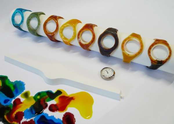 Edible Wiggly Wristwatches